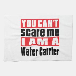El portador de agua no puede asustar diseños toallas de cocina