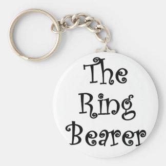 El portador de anillo llavero