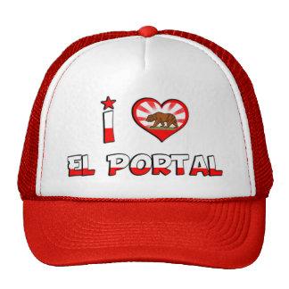 El Portal, CA Trucker Hat