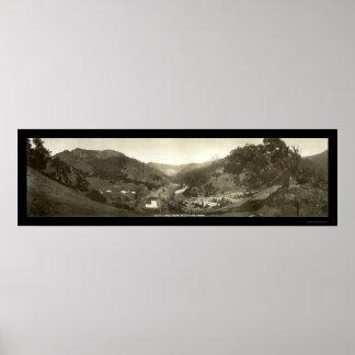 El Portal Yosemite CA Photo 1908 Posters