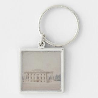 El pórtico del sur de House del presidente, 1807 Llavero Personalizado