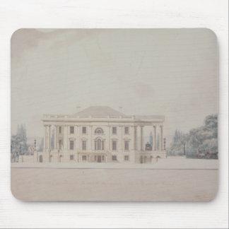 El pórtico del sur de House del presidente, 1807 Mousepad