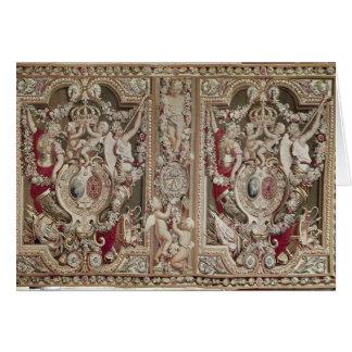 El Portiere del famoso, taller de los duendes Tarjeta De Felicitación