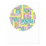 El positivo redacta la postal