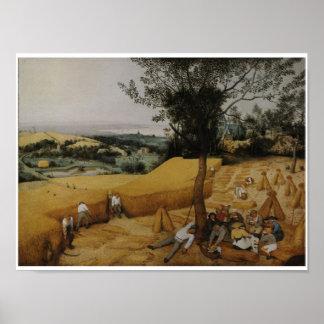 El poster 1565 de la impresión del arte del vintag