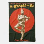 El poster 1903 del vintage del hombre de la lata d toalla