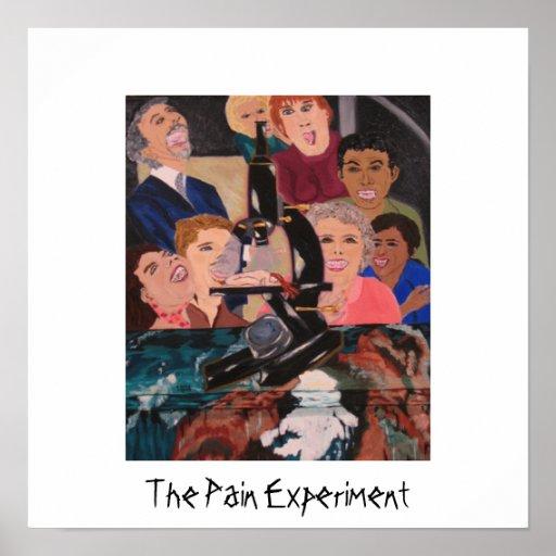 El poster 2 del experimento del dolor