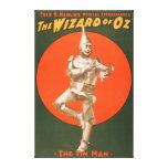 """""""El poster #2 del teatro musical de mago de Oz"""" Impresión En Lienzo"""