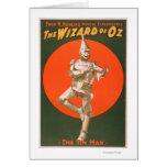 """""""El poster #2 del teatro musical de mago de Oz"""" Tarjeta De Felicitación"""