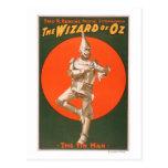 """""""El poster #2 del teatro musical de mago de Oz"""" Tarjeta Postal"""