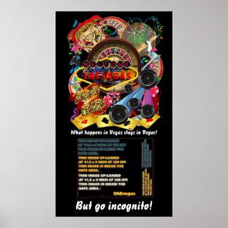 """El poster 34"""" del día de padres de Las Vegas X 60"""""""