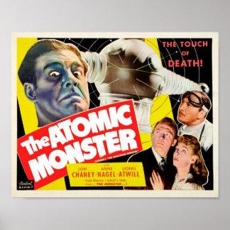 El poster atómico del monstruo