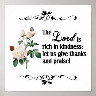 El poster de encargo II de señor Is Rich In Kindne