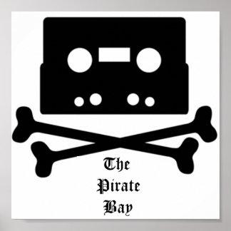 El poster de la bahía del pirata