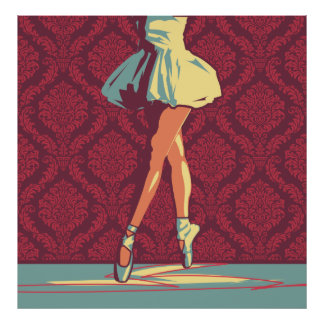 El poster de la bailarina
