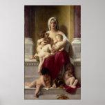 El poster de la caridad por el Bouguereau principa