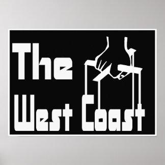 El poster de la costa oeste