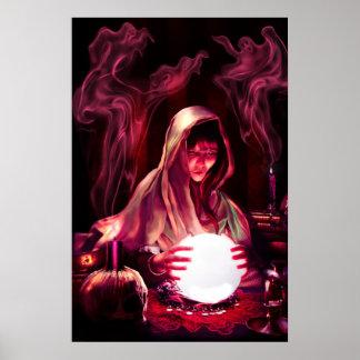 El poster de la hija de los adivinos