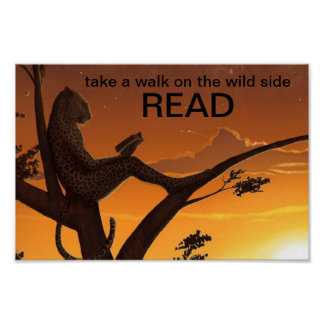 El poster de la instrucción del guepardo de la lec