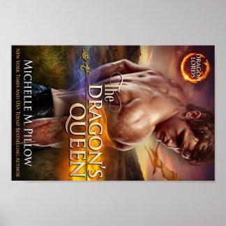 El poster de la reina Bookcover del dragón