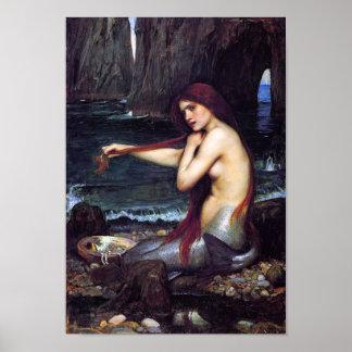 El poster de la sirena