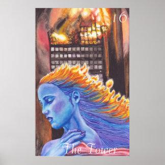El poster de la torre