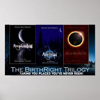 El poster de la trilogía del derecho por nacimient