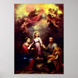 El poster de la trinidad santa póster