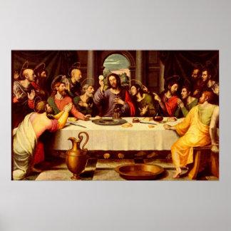 El poster de la última cena