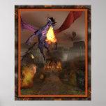 El poster de la venganza de los dragones