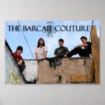 El poster de las costuras de Barcait