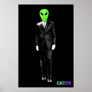 El poster de los Earthlings