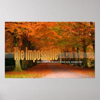 El poster de motivación imposible