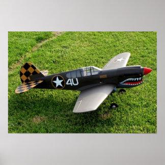 El poster de P-40 Warbird