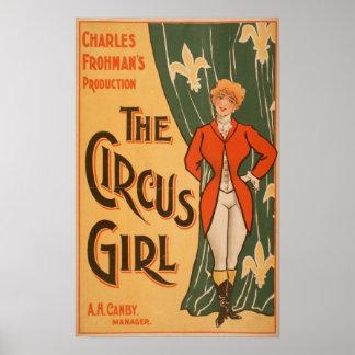 El poster de teatro #1 del chica del circo