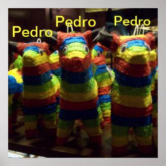 El poster de tres Pedros