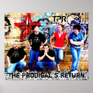 El poster de vuelta 1 del Prodigal
