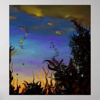 El poster del amanecer del otro mundo