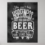 El poster del amante de la cerveza