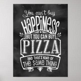 El poster del amante de la pizza