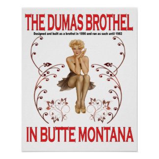 El poster del burdel de Dumas