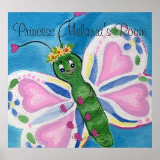 El poster del día de la mariposa póster