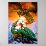 El poster del dragón del duelo