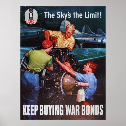 ¡El poster del límite del cielo!
