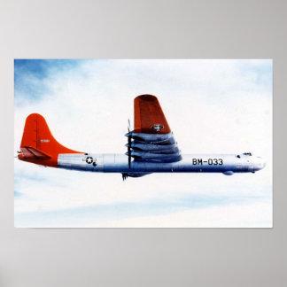 El poster del pacificador 2 de Convair B-36