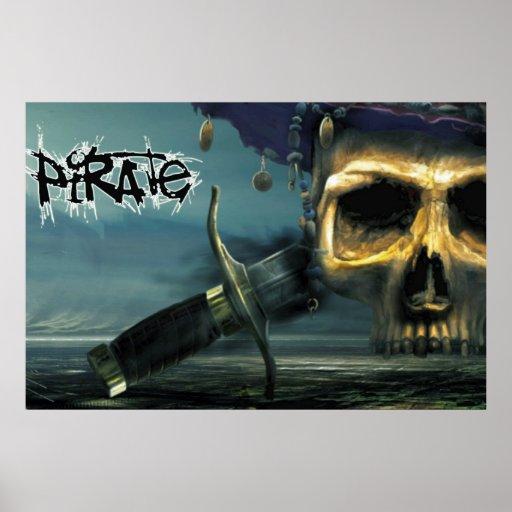 El poster del pirata