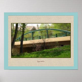 El poster del puente del trullo en casa cerca gret