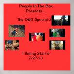 El poster del Special 2 de D&B