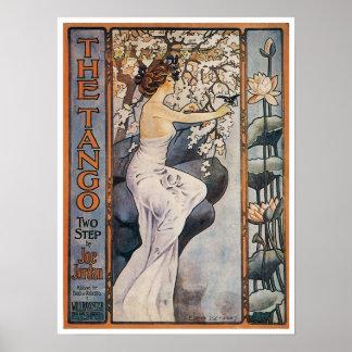 El poster del tango póster