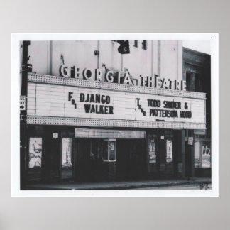 El poster del teatro del GA